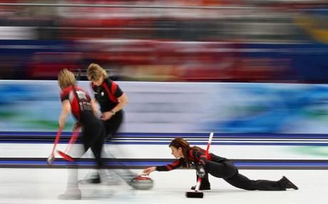 olympics, curling, sports photography, high speed photography
