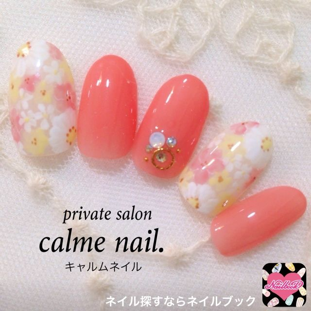 ネイル 画像 private salon calmenail. 三ノ宮 461801