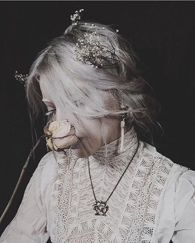Absolutely lovely photo from @hexodus - thank you so much for choosing to showcase our Pentacle Pendant in your gorgeous art ❤️