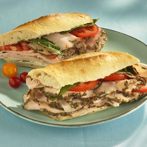 Grilled Mediterranean Chicken Sandwich #recipe