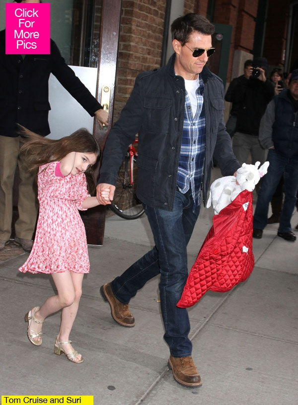 Suri Cruise is officially a trust fund baby.