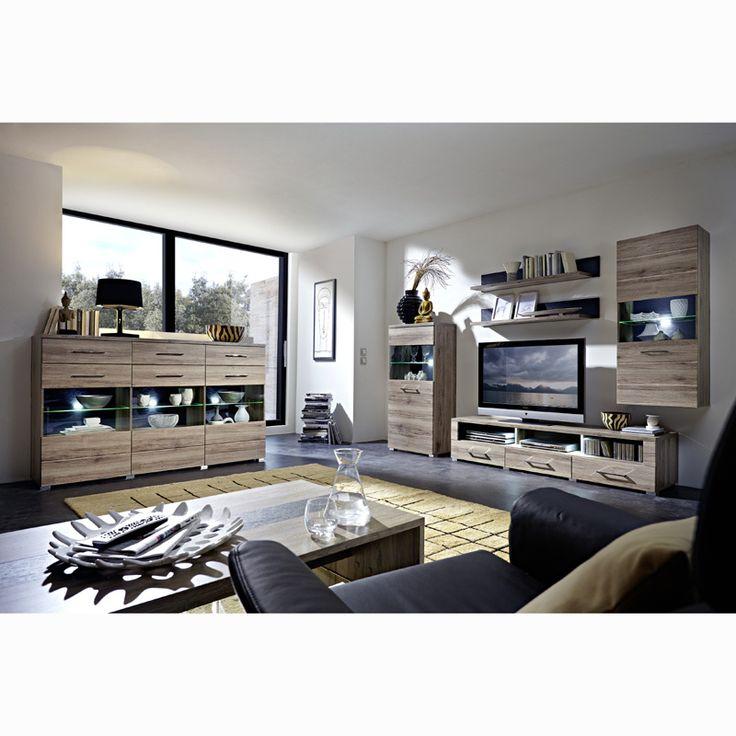 Die besten 25+ Highboard eiche Ideen auf Pinterest Highboard, Tv - wohnzimmer eiche massiv modern