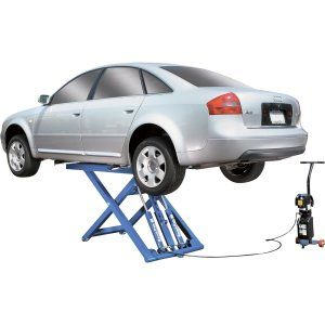 BendPak Portable Mid-Rise Scissor Lift 6,000lb. Capacity For the man who will not trust his car to anyone. Ideal for servicing light-duty trucks and cars. http://awsomegadgetsandtoysforgirlsandboys.com/cool-car-gadgets/ BendPak Portable Mid-Rise Scissor Lift 6,000lb. Capacity