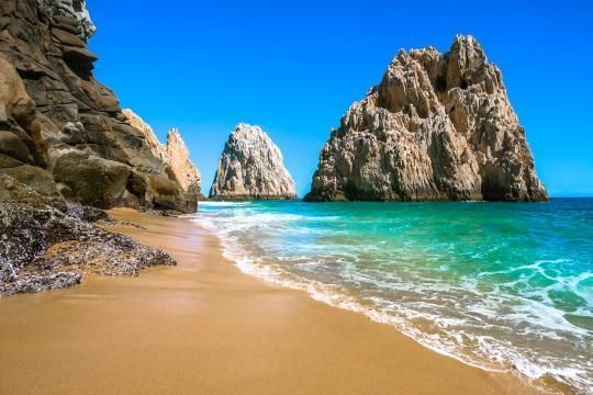 Los Cabos is a popular and safe beach destination on Mexico's Baja Peninsula. Beautiful resorts sit on its sandy beaches between two distinctive towns, San Jose Del Cabo and Cabo San Lucas. Cabo never feels crowded, which is a huge draw for vacationers