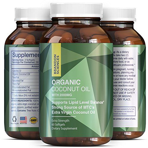 Boost the immune system, get control of your cholesterol levels, burn belly fat and lose weight all thanks to this organic extra virgin Coconut Oil pills from B