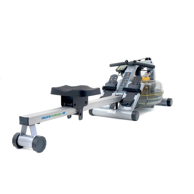 First Degree Fitness Pacific AR Rower Water Rower Exercise Machine - FDF-PACIFIC-CAR-12