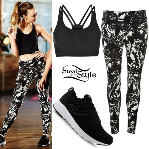 Perrie Edwards USA Pro Campaign Outfits