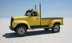 Mack truck #yellow