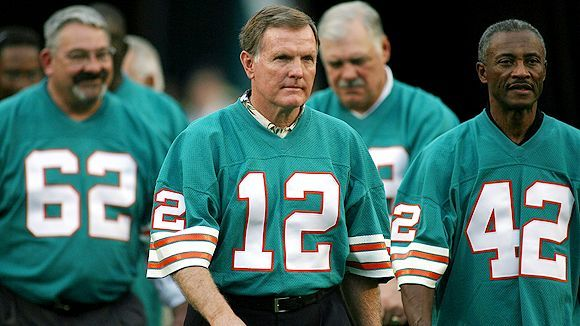 1972 MIAMI DOLPHINS PHOTOS | Marc Serota/Getty Images Members of the 1972 Miami Dolphins, including ...