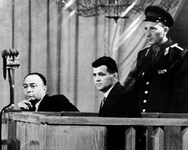 August 19,1960: U-2 PILOT IS SENTENCED  -   Captured American U-2 pilot Francis Gary Powers is sentenced to 10-years imprisonment by the Soviet Union for his confessed espionage.