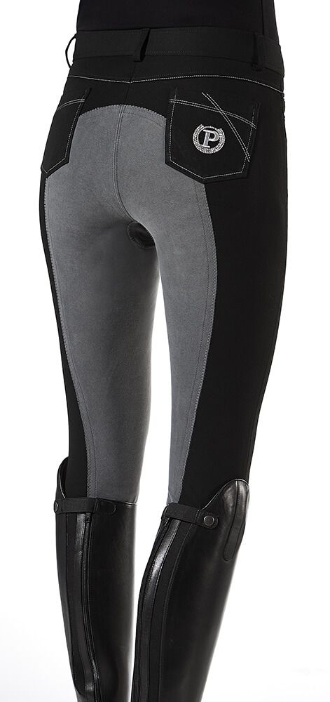 Pfiff Joleen Riding Breeches in a comfortable bi-elastic stretch that moves with you in the saddle and out. Fashion forward and flattering fit.