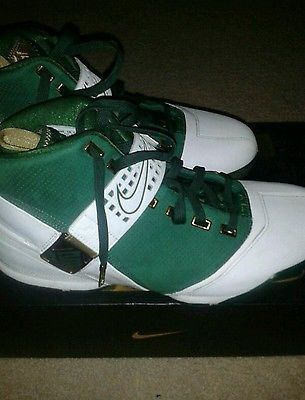Lebron 5 SVSM Sz 12 -Nike Lebron 5 SVSM shoe sz 12 & Reversible HS Jersey with Olympic team #6 on the other side. I got the shoes in 2007. They are a rare find for this price & I am including the jersey to match. I got them to hang out in & not for playing basketball. They are in great condition for any sneakerhead to rock.