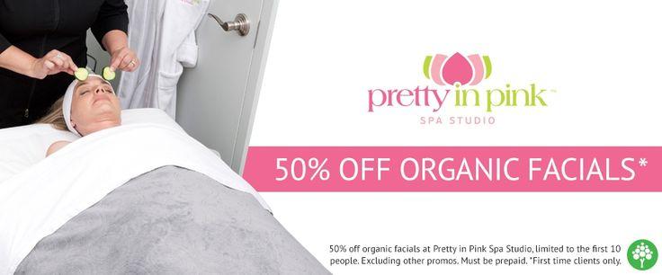 Organic Facials Save 50% @pipspa  #Oakville #ShopLocal