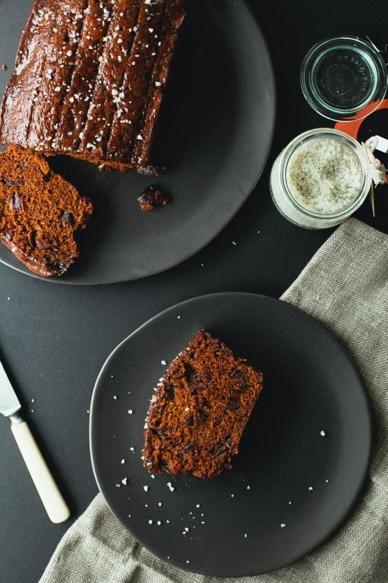 It's always a good idea to have a good quick bread recipe on hand for unexpected guests. Salted Caramel Date Loaf   Not Without Salt