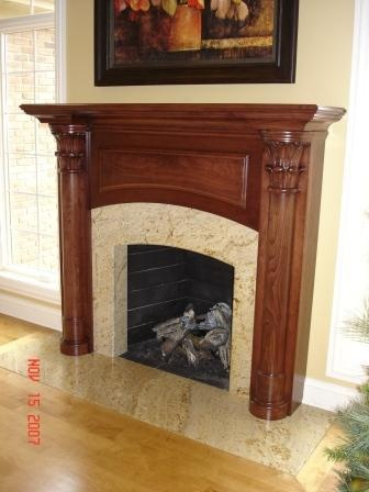 we have designed and built many unique and beautiful fireplace surrounds