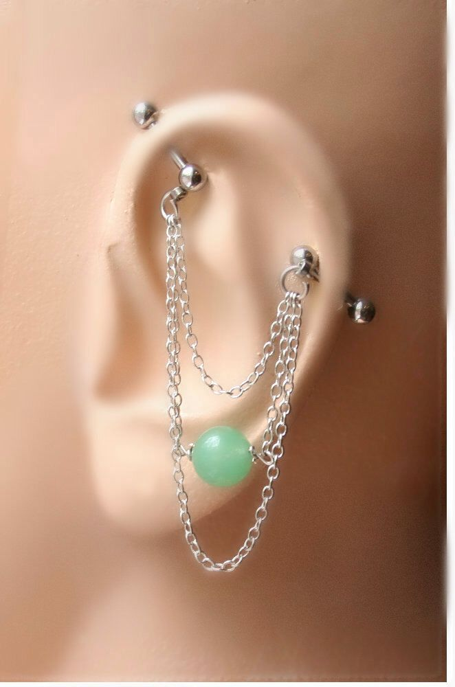 best 25 industrial bar earring ideas on