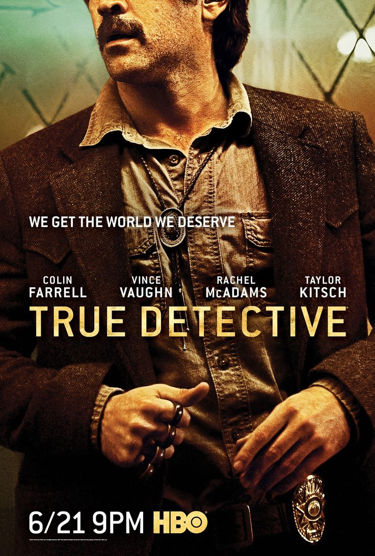 Pin For Later Rachel McAdams Taylor Kitsch More Get Their Own True Detective Posters Colin Farrell As Ray Velcoro