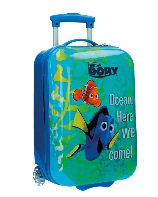 Disney Nemo e Dory Trolley in Abs 48 cm