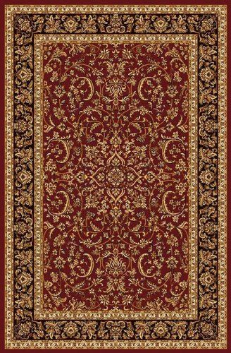 Radici 1318 NOBLE Rugs, 5-Feet 5 by 8-Feet 3-Feet, Burgundy ** Awesome product. Click the image (This is an amazon affiliate link. I may earn commission from it)