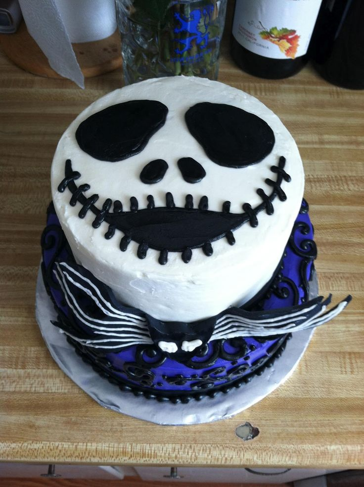 Simple Nightmare Before Christmas Cake Google Search