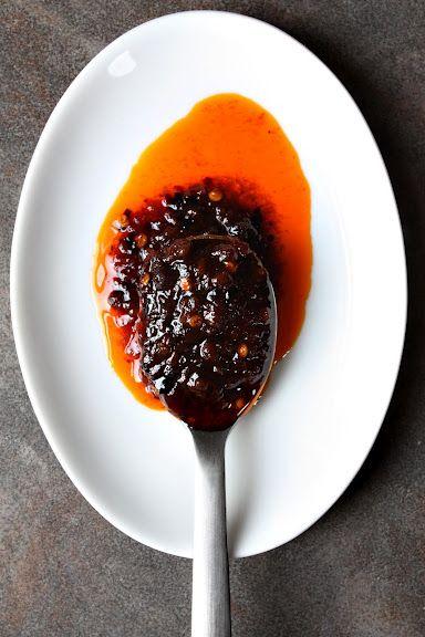 Nam Prik Pao (น้ำพริกเผา): Thai Chilli Jam - Secret Ingredient in Thai Spicy Stir-Fries, Salads, Etc. | Thai Food by SheSimmers