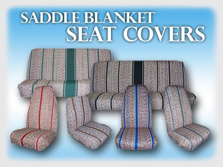 Toyota Saddle Blanket Seat Covers Truck Seat Covers Saddle Blanket Seat Covers