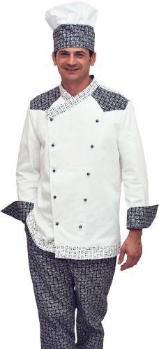 #Chef #Style #divisa #cucina #giacca #cuoco #pantalone #cappello #settore #ristorazione