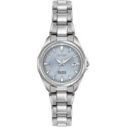 Citizen Eco-Drive Ladies' Super Titanium Watch With Sapphire Crystal Ew2410-54L