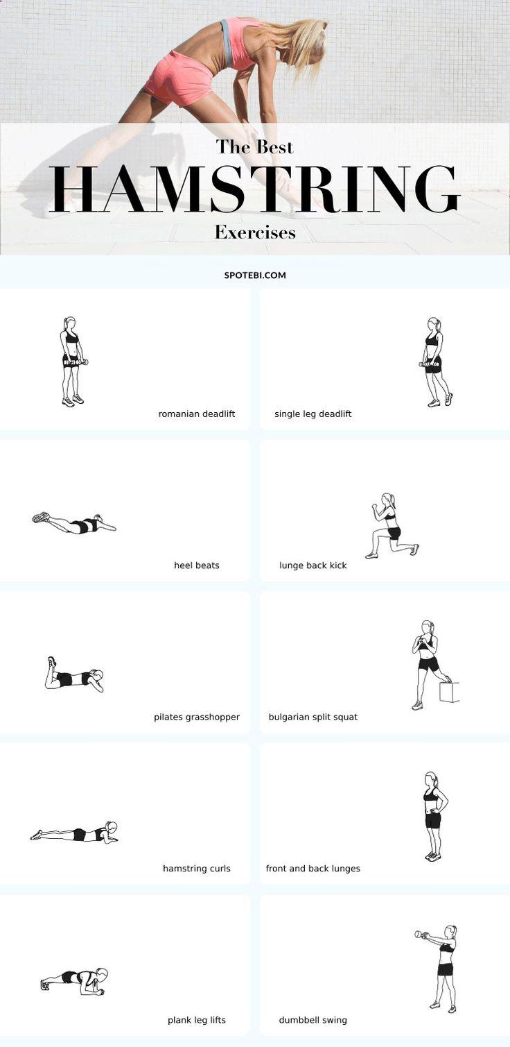 Best 25+ Best hamstring exercises ideas on Pinterest
