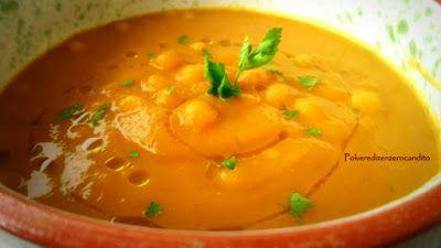 Polvere Di Zenzero Candito: Curry vegano di zucca con ceci