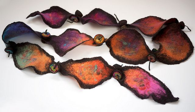 boa feuilles d'automne by Dans mon corbillon..., via Flickr - love the colours