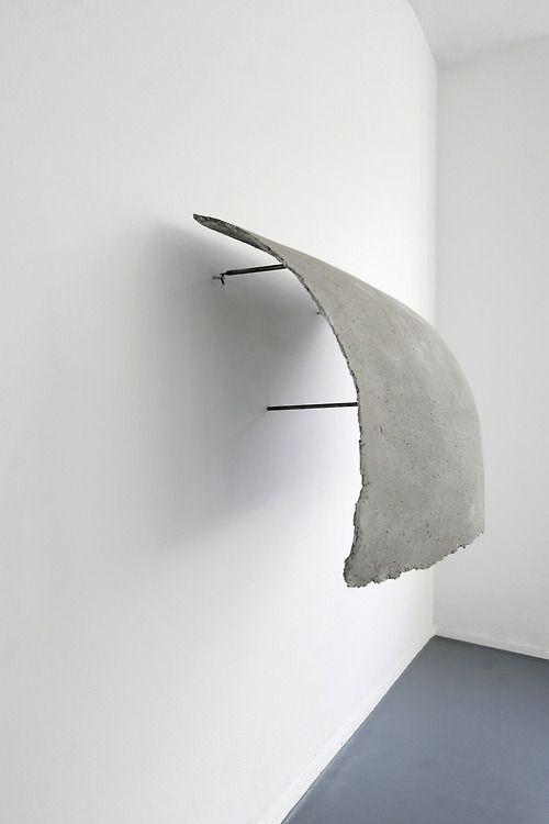 Valerie Krause - Immaterial - Concrete & steel, 2013