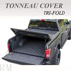 "TRI-FOLD TONNEAU COVER FIT 2015-2016 TUNDRA SR5 CREWMAX DOUBLE CAB 5.5' /66"" BED"