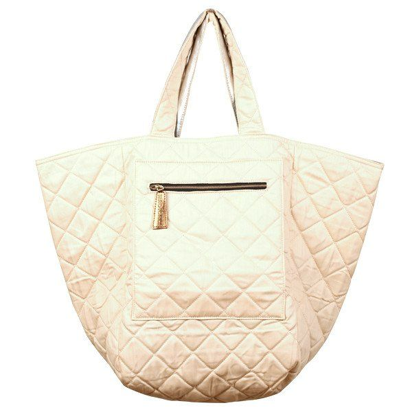 Radical Yes 'BIG LOVE' - Silver Canvas / Quilted Herringbone Bag
