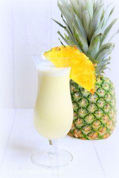 Rezepte mit Herz   ♥: Pina Colada Cocktail ♡