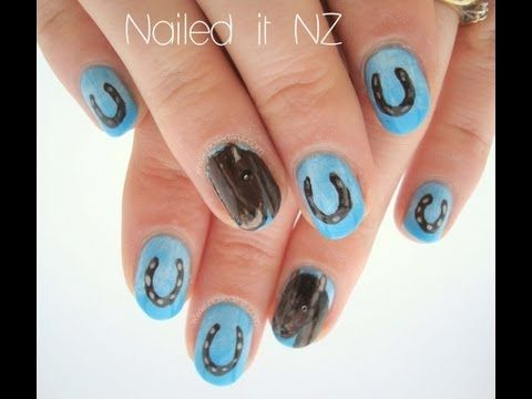 how to make horseshoe nail art