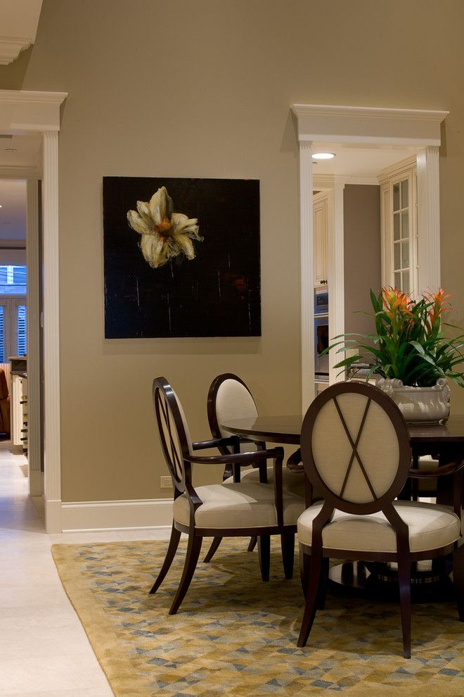 45 best images about dining room on pinterest front door for Traditional dining room color ideas