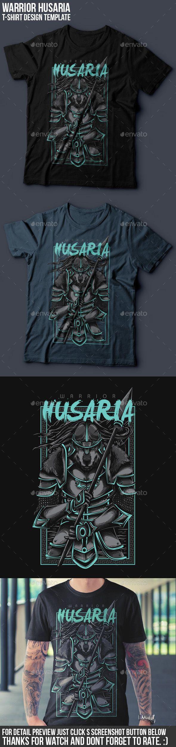 Husaria Warrior T-Shirt Design Vector EPS, Transparent PNG, AI Illustrator. Download here: https://graphicriver.net/item/husaria-warrior-tshirt-design/17240528?ref=ksioks