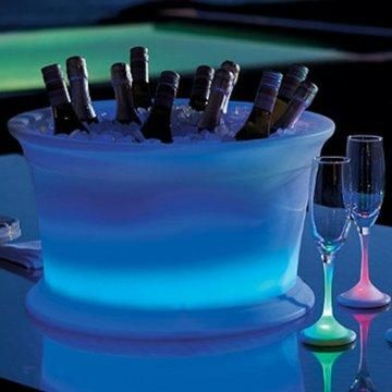 Illuminated Beverage Tub.