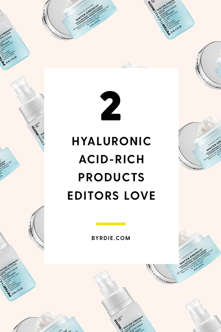 Beauty editors are loving Peter Thomas Roth's hyaluronic acid-rich products—and for good reason. Click through to find out what the buzz is all about and why you should add these two skincare products to your arsenal. #ad