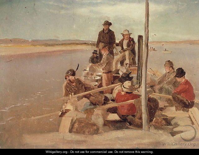 Boundary survey under Major Twining, 1861-74 - William de la Montagne Cary