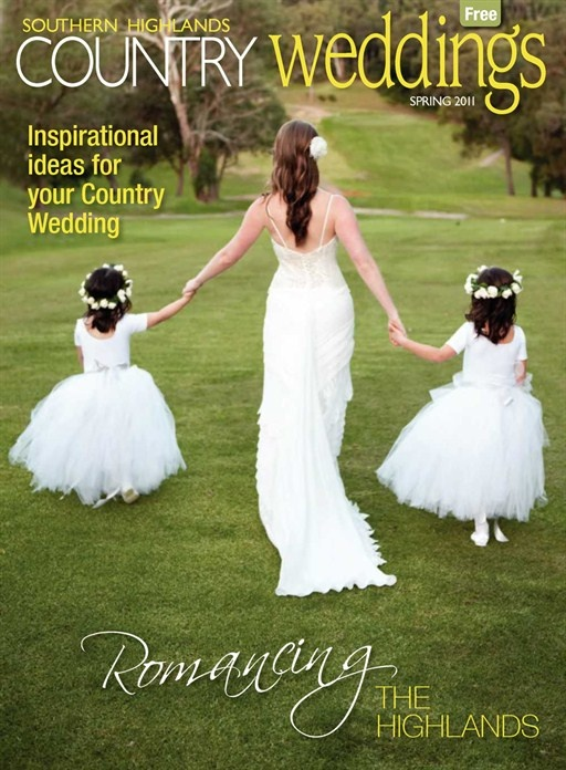 Country Weddings, southern highlands wedding cover by uber photography