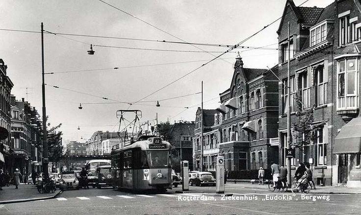 Het Eudokiaziekenhuis aan de Bergweg waar ik in 1944 nog gekeurd werd om in aanmerking te komen voor de gaarkeuken.