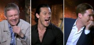 "YOU MUST WATCH THIS. During an interview for The Hobbit: Desolation of Smaug. The cast is given a quiz "" Who's Feet are these?""."