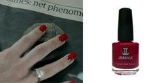 Details of the nail varnish Irene Adler wears in BBC Sherlock.