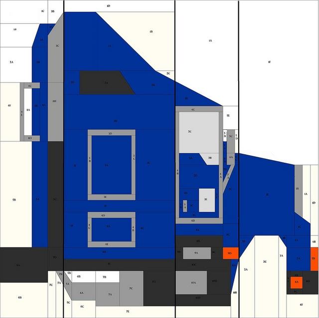 Paper Pieced Mack Truck Sewing Pinterest Trucks