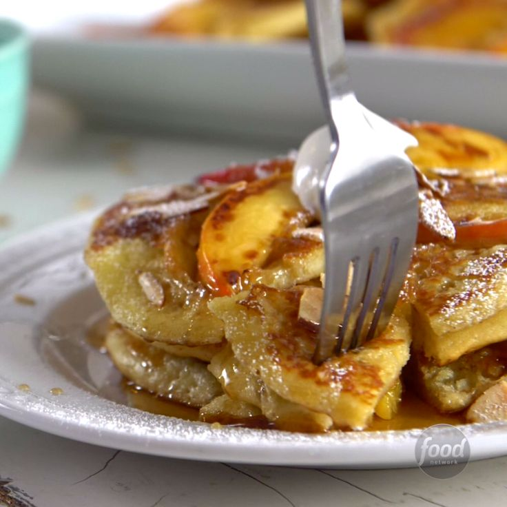 Recipe of the Day: Peach Cobbler Pancakes Don't let July pass you by without having the ultimate breakfast of the month. Think of these pancakes as the classic summer fruit dessert reimagined as a sweet breakfast treat. They're so good we won't blame you for craving them again come August.