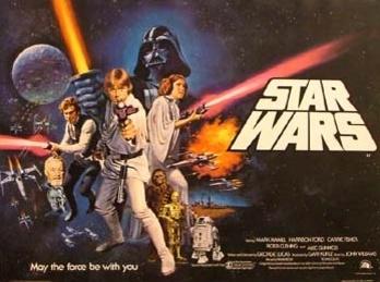 1977 Star Wars Original UK Film Poster. £1250 at Vintage Seekers.