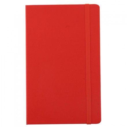 Personalised Moleskine | Plain notebook | Red | Large