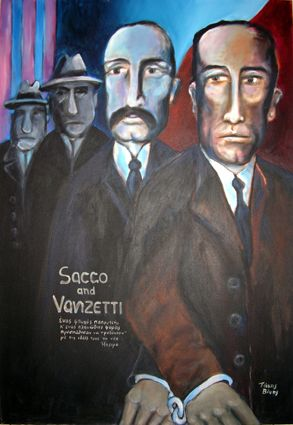 Sacco and Vanzetti. Takis Vinis